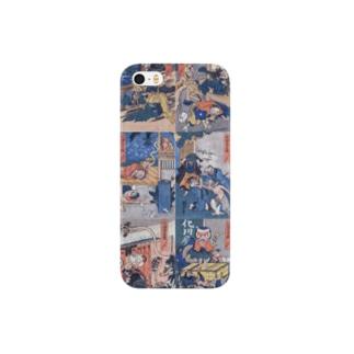 和もの雑貨 玉兎の化物忠臣蔵【浮世絵・妖怪・歌舞伎】 Smartphone cases