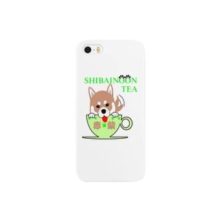 しばいぬーんティー Smartphone cases