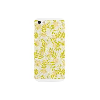 秋のパターン装飾 色違い Smartphone cases