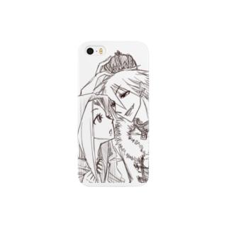 ユウクロx王子と赤ずきん Smartphone cases