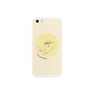 おさげ少女 Smartphone cases