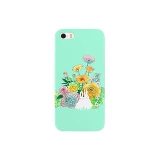 La saison fleurie Smartphone cases