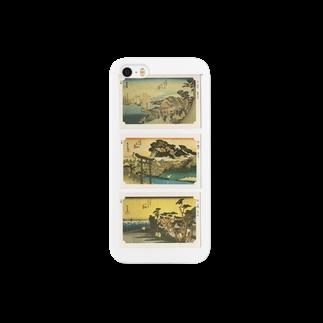 安永峰夫の広重-B Smartphone cases