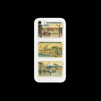 安永峰夫の広重-C Smartphone cases