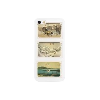 広重-D Smartphone cases