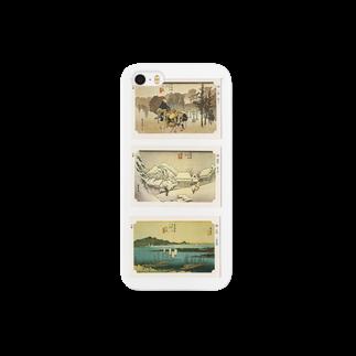 安永峰夫の広重-D Smartphone cases