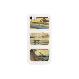 広重-F Smartphone cases