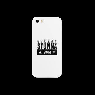 STUNNAのSTUNNA BONE LOGO Smartphone cases