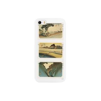 安永峰夫の広重-I Smartphone cases