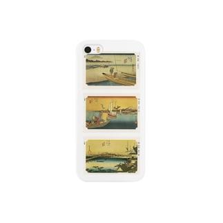 広重-L Smartphone cases