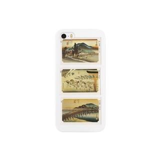 安永峰夫の広重-N Smartphone cases