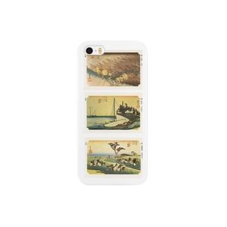 広重-O Smartphone cases