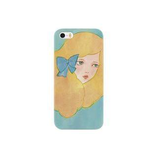 リボンガール Smartphone cases