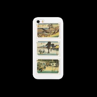 安永峰夫の広重-Q Smartphone cases