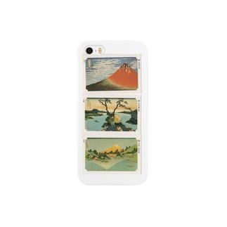 安永峰夫の北斎-B Smartphone cases
