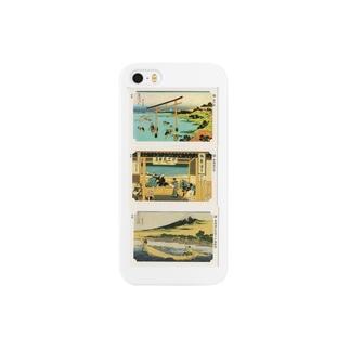 安永峰夫の北斎-D Smartphone cases