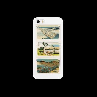 安永峰夫の北斎-E Smartphone cases