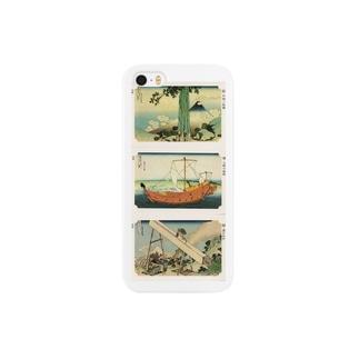 安永峰夫の北斎-F Smartphone cases