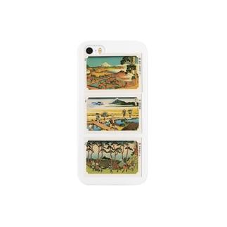 北斎-G Smartphone cases