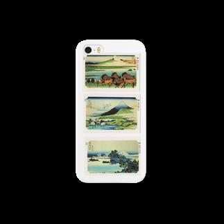 安永峰夫の北斎-H Smartphone cases