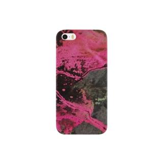 pink×brack Smartphone cases
