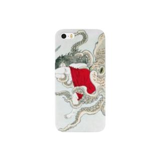 芳年略画 志渡の浦玉取蜑【浮世絵・妖怪】 Smartphone cases