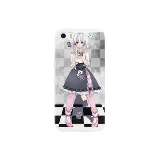 雀屋シユのBlanche Smartphone cases