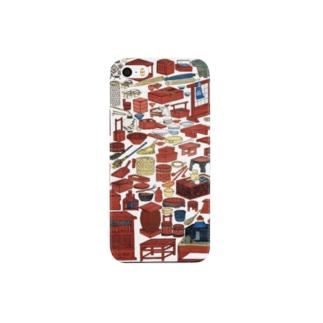 新板かつて道具尽【浮世絵・おもちゃ絵】 Smartphone cases
