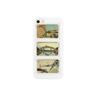 安永峰夫の北斎-K Smartphone cases