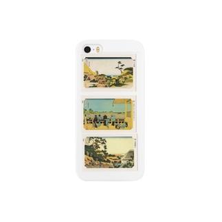 北斎-L Smartphone cases
