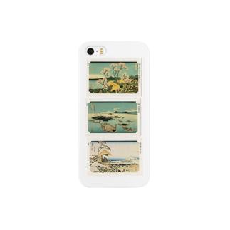 北斎-M Smartphone cases