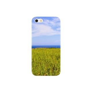 さとうきび畑 Smartphone cases