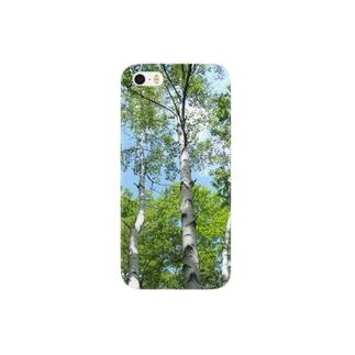 white birch Smartphone cases