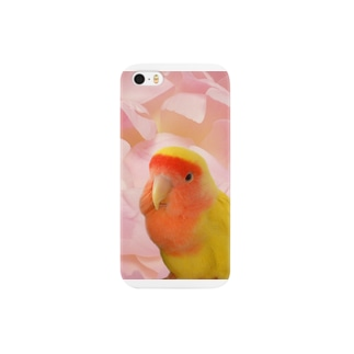 小桜インコ(イエロー) Smartphone cases