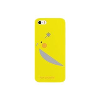 オカメインコをモチーフとした Smartphone cases