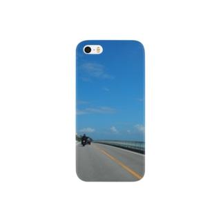 Okinawa【design×世界一周】 Smartphone cases