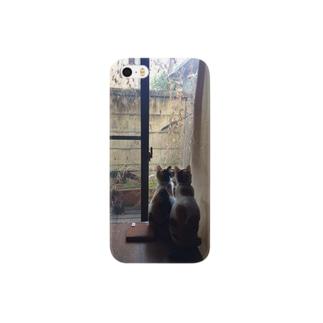 窓の外 Smartphone cases