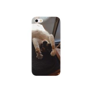 いないいないバー猫 Smartphone cases