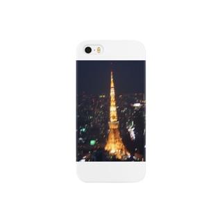 ちょいぼけ東京タワー Smartphone cases