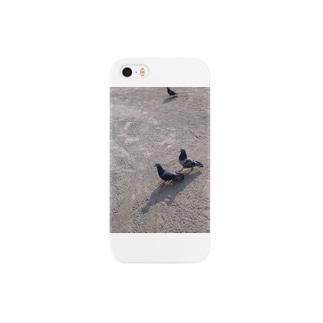 ハト夫婦 Smartphone cases