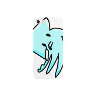 いか(おじぎ) Smartphone cases