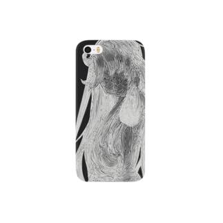 線姫(黒) Smartphone cases
