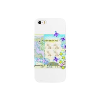 222★月山いつこ作品●suzurimon●Happy*birthdayの庭1 Smartphone cases