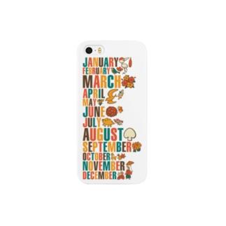 トランプ花札 Smartphone cases