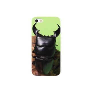 スマトラヒラタクワガタ Smartphone cases