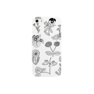 DAKE SHOPのmono flowers Smartphone cases