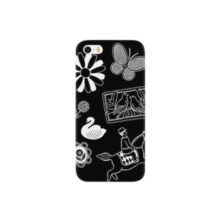 mono brooches Smartphone cases