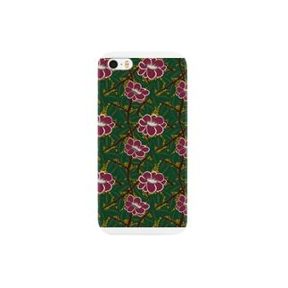 冬のパターン装飾 Smartphone cases
