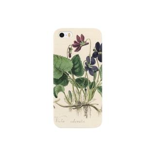 スミレ Smartphone cases