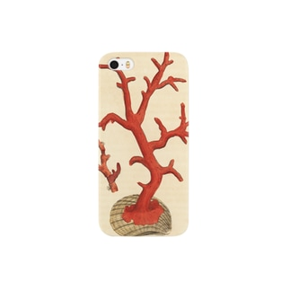赤サンゴ スマートフォンケース